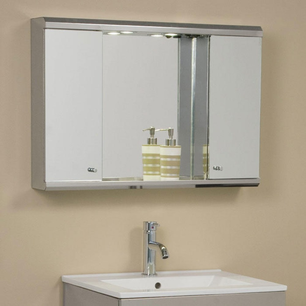 Medicine Cabinets With Mirrors Brushed Nickel