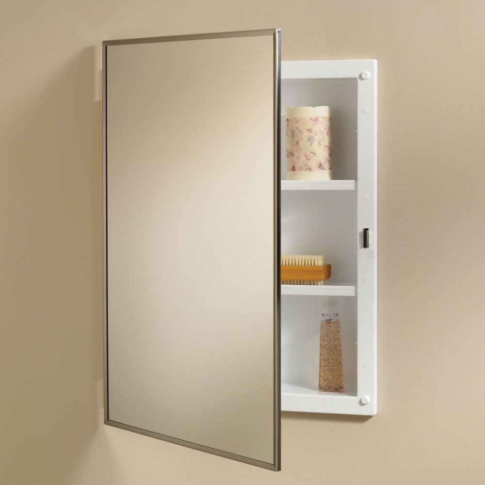 Medicine Cabinets With Mirrors Recessed