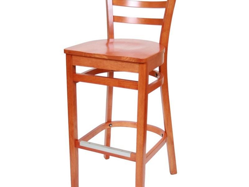 Metal Bar Chairs With Backs