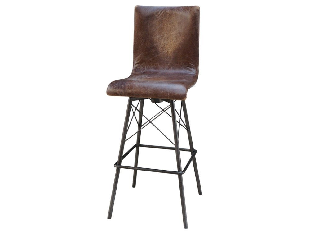 Metal Bar Stools Swivel With Back
