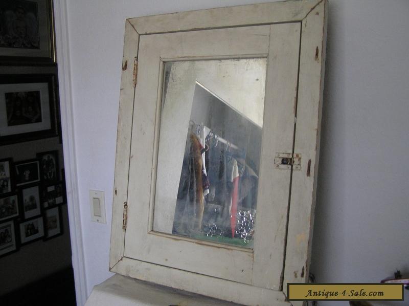 Metal Medicine Cabinet Vintage