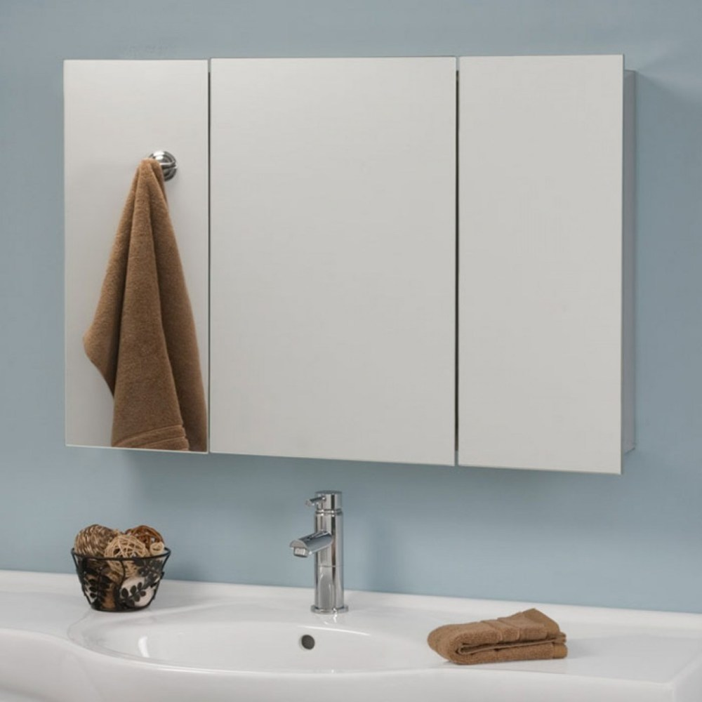 Metal Medicine Cabinet With Mirror