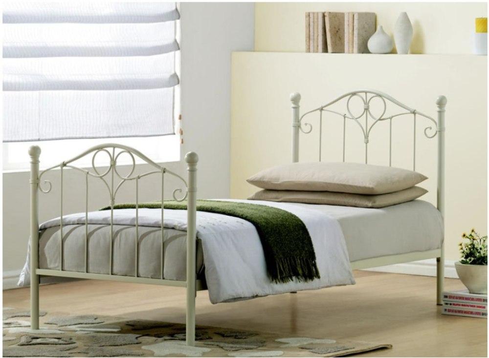 Metal Toddler Bed White