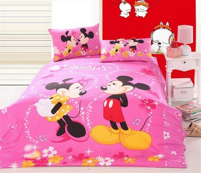 Mickey Minnie Mouse Toddler Bed Sets