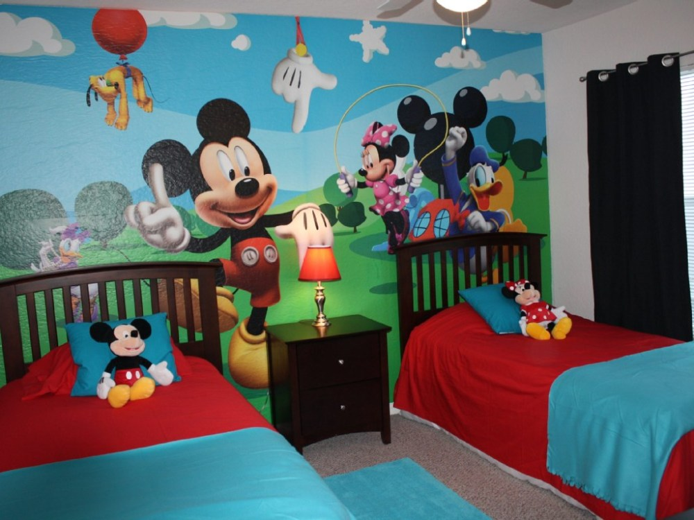 Mickey Mouse Bed Set For Toddlers