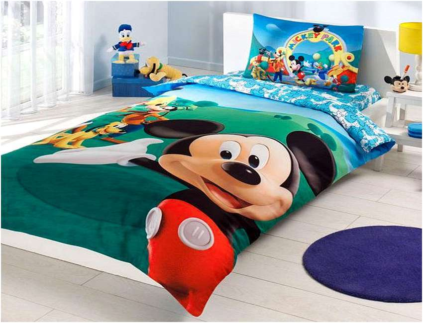 Mickey Mouse Clubhouse Bed Set For Toddlers