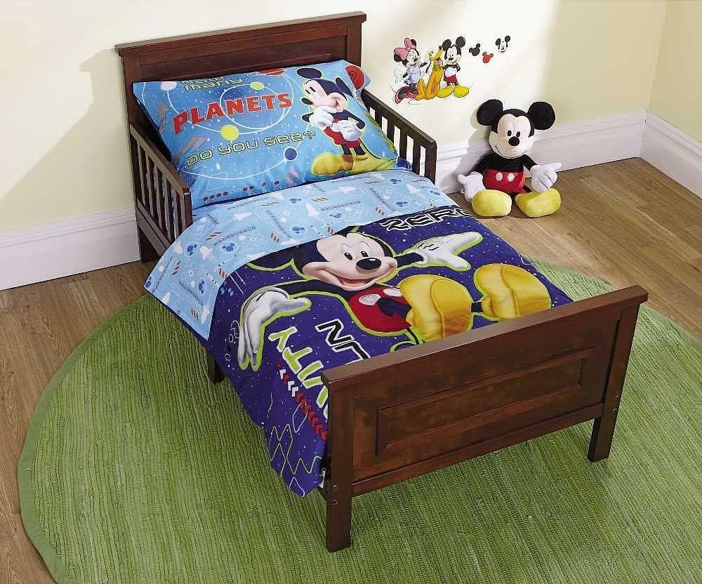 Mickey Mouse Clubhouse Toddler Bed Set