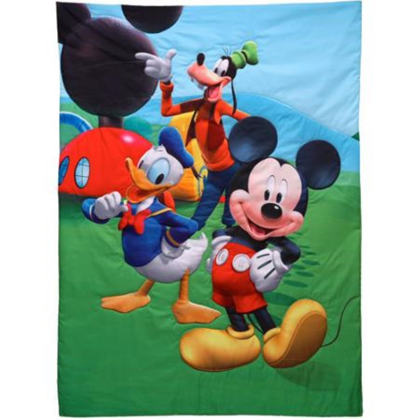 Mickey Mouse Clubhouse Toddler Bed Sheet Set