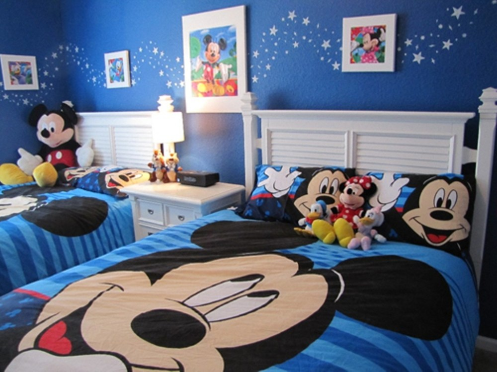 Mickey Mouse Clubhouse Toddler Bedroom