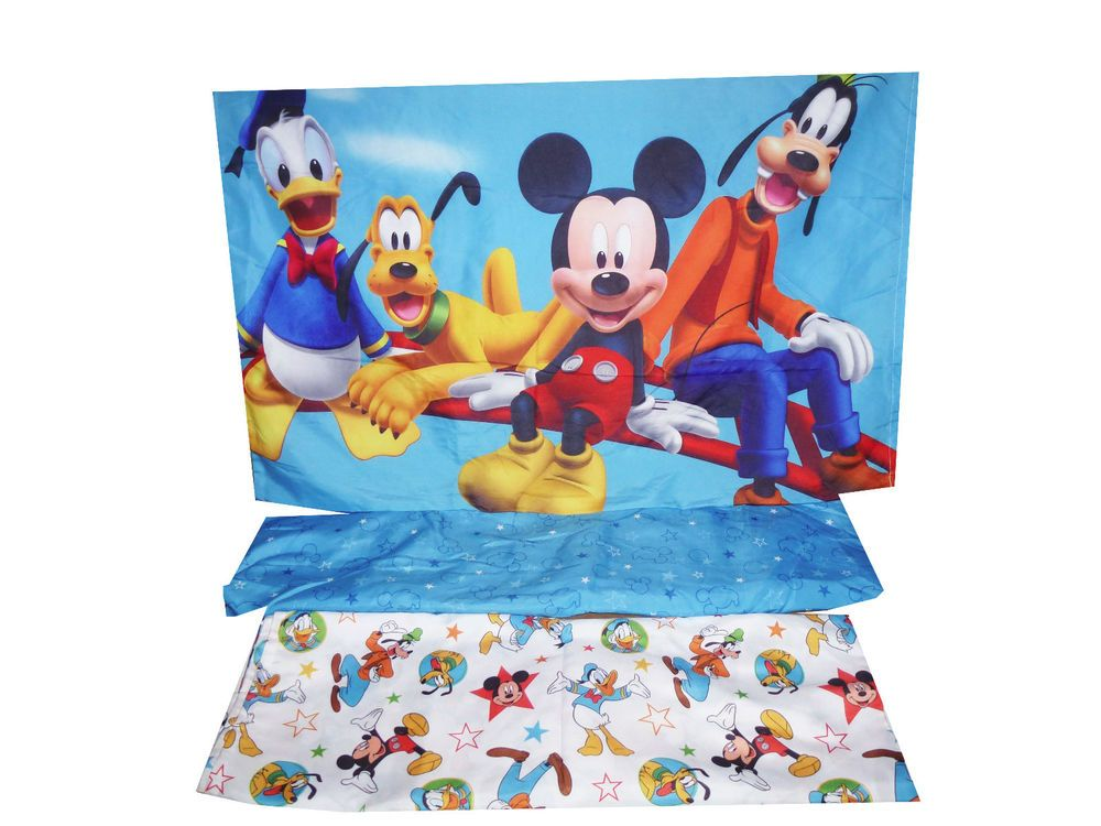 Mickey Mouse Toddler Bed Sheet Set