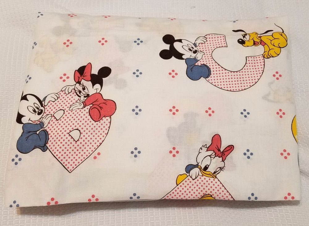 Mickey Mouse Toddler Bed Sheet