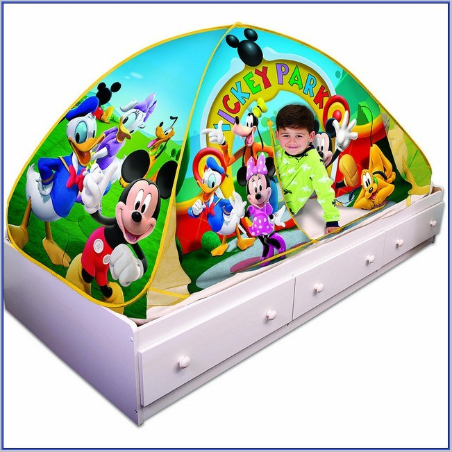Mickey Mouse Toddler Bed Tent