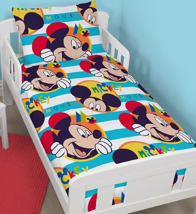 Mickey Mouse Toddler Bedding Bundle