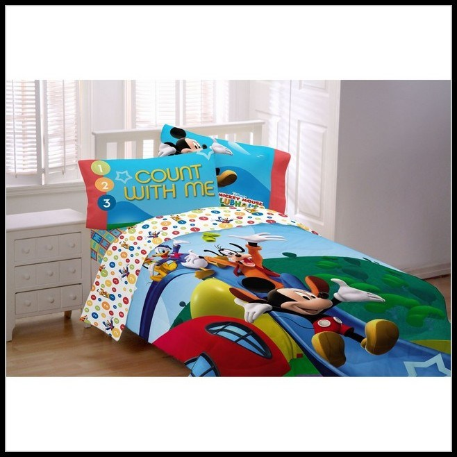 Mickey Mouse Toddler Bedding Kmart
