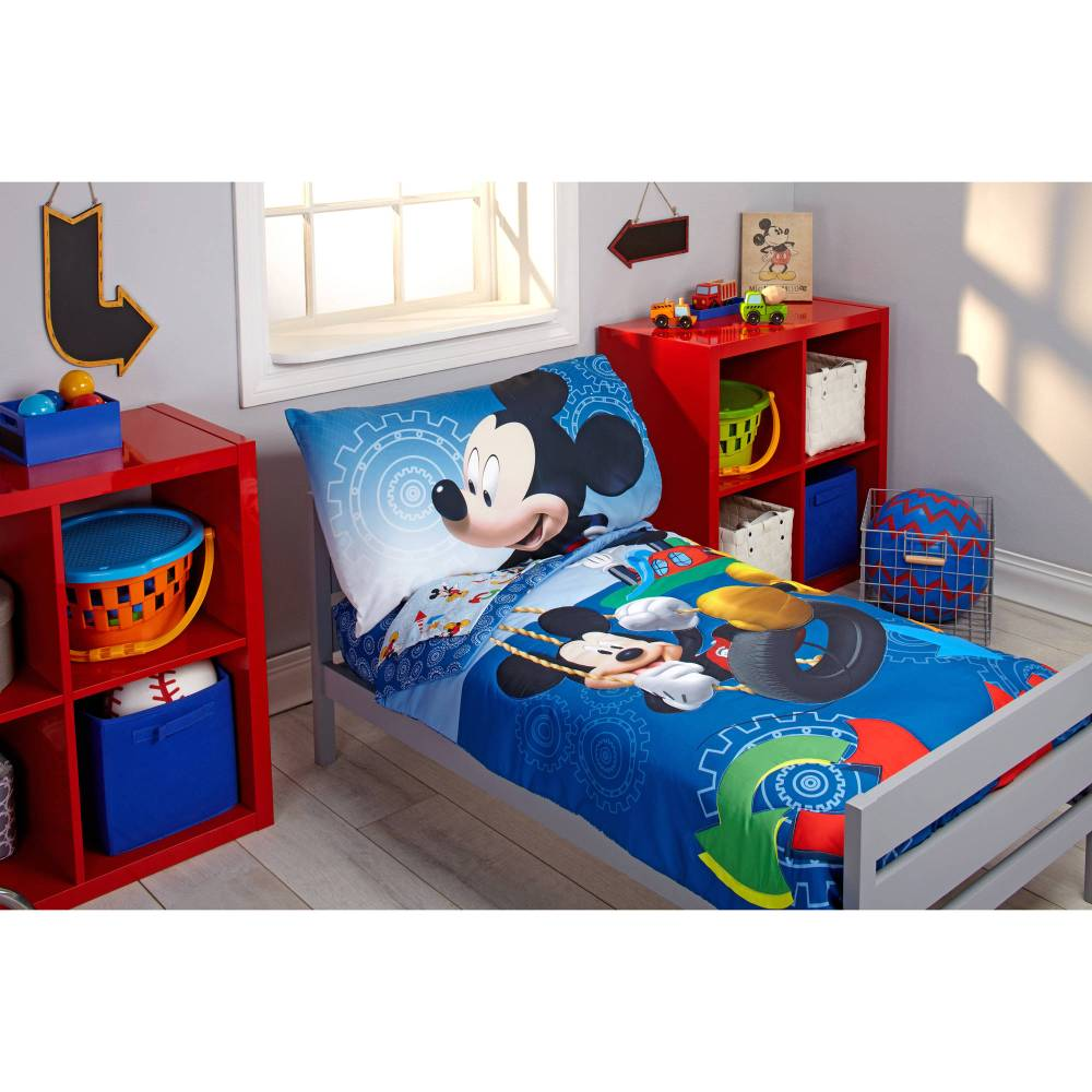 Mickey Mouse Toddler Bedding Walmart