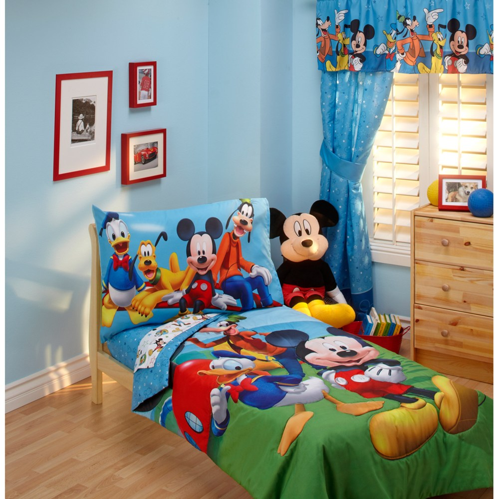 Mickey Mouse Toddler Bedroom