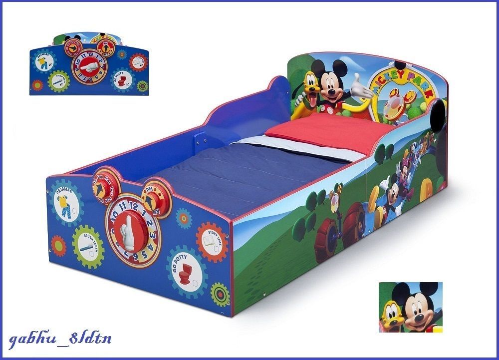 Mickey Toddler Bedroom