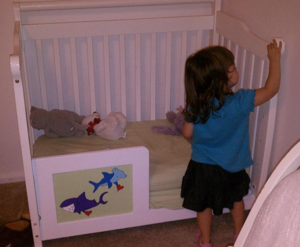 Mini Crib Toddler Bed