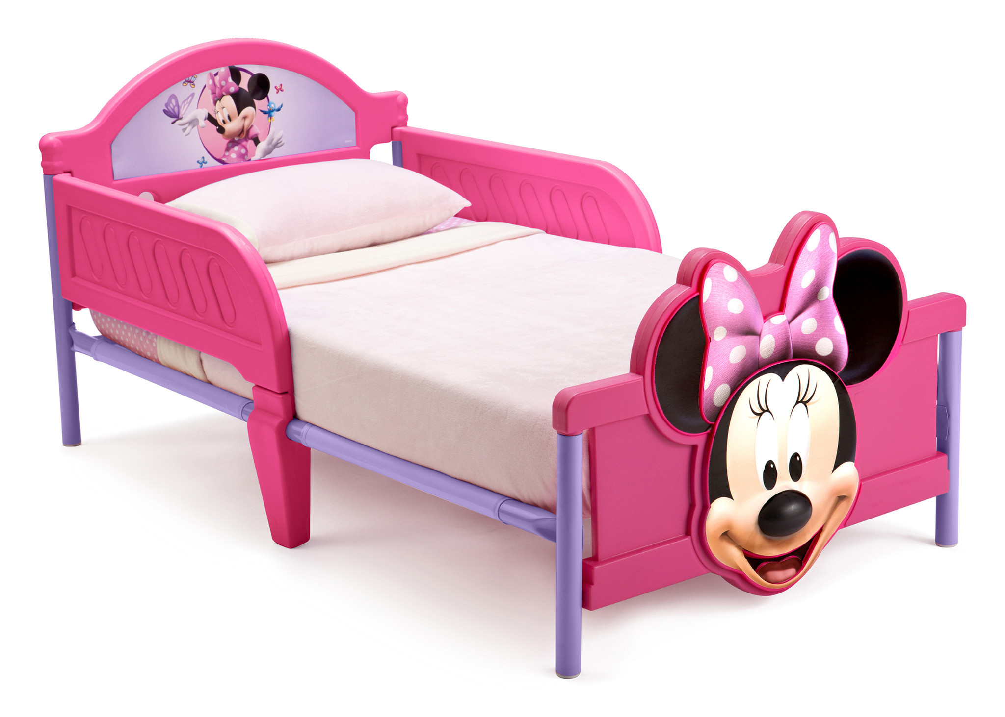 Minnie Mouse 3d Toddler Bed