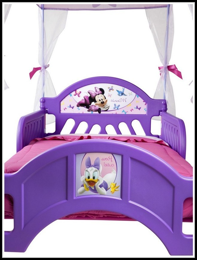 Minnie Mouse Tent Toddler Bed