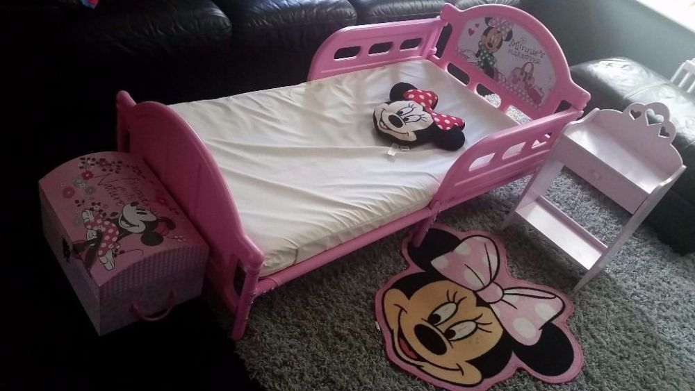 Minnie Mouse Toddler Bed Bundle