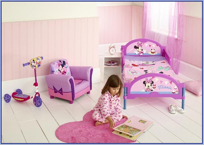 Minnie Mouse Toddler Bed Set Amazon