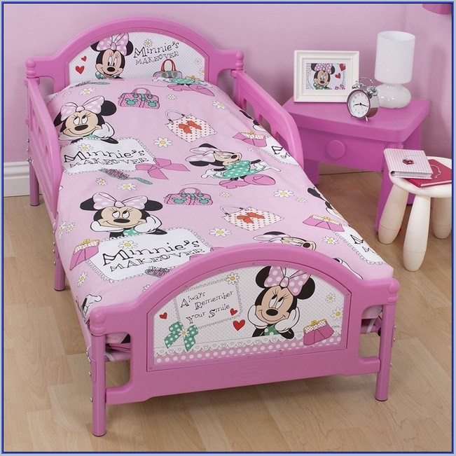 Minnie Mouse Toddler Bed Set Kmart