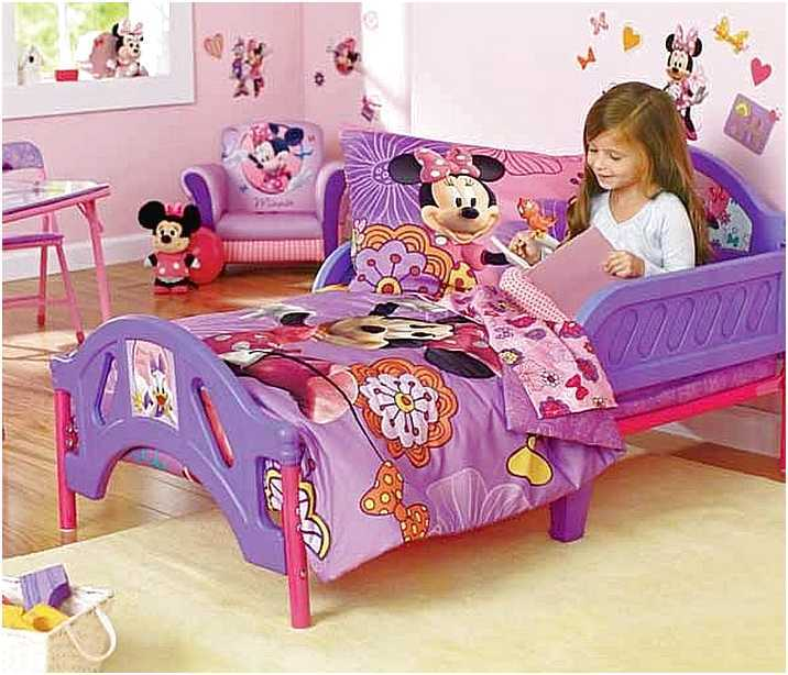 Minnie Mouse Toddler Bed Set Target