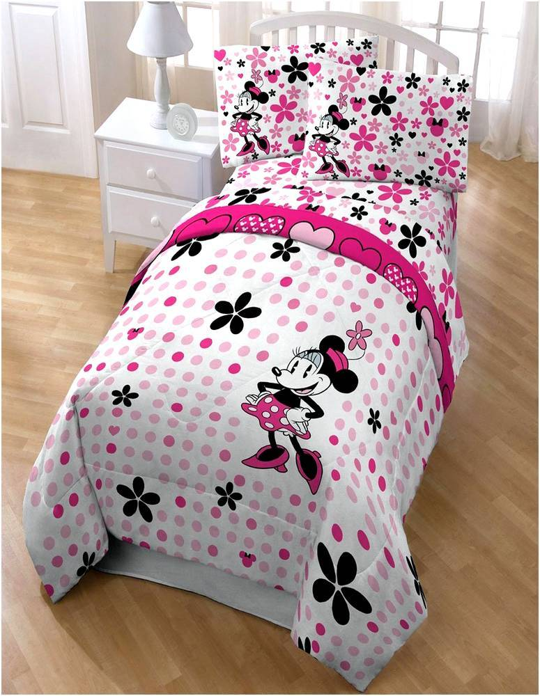 Minnie Mouse Toddler Bed Set Walmart