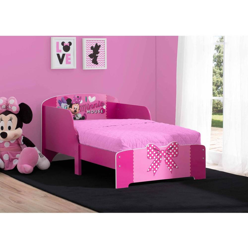 Minnie Mouse Toddler Bed Wood