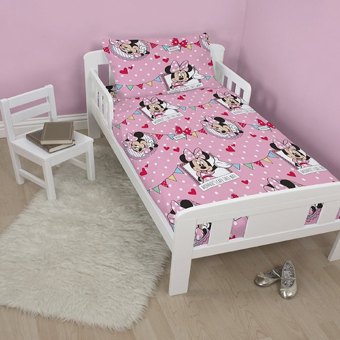 Minnie Mouse Toddler Bedding Bundle