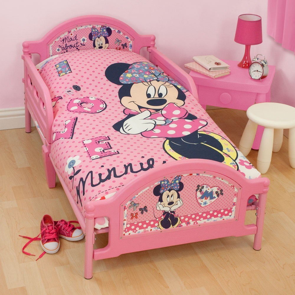 Minnie Mouse Toddler Bedroom Set
