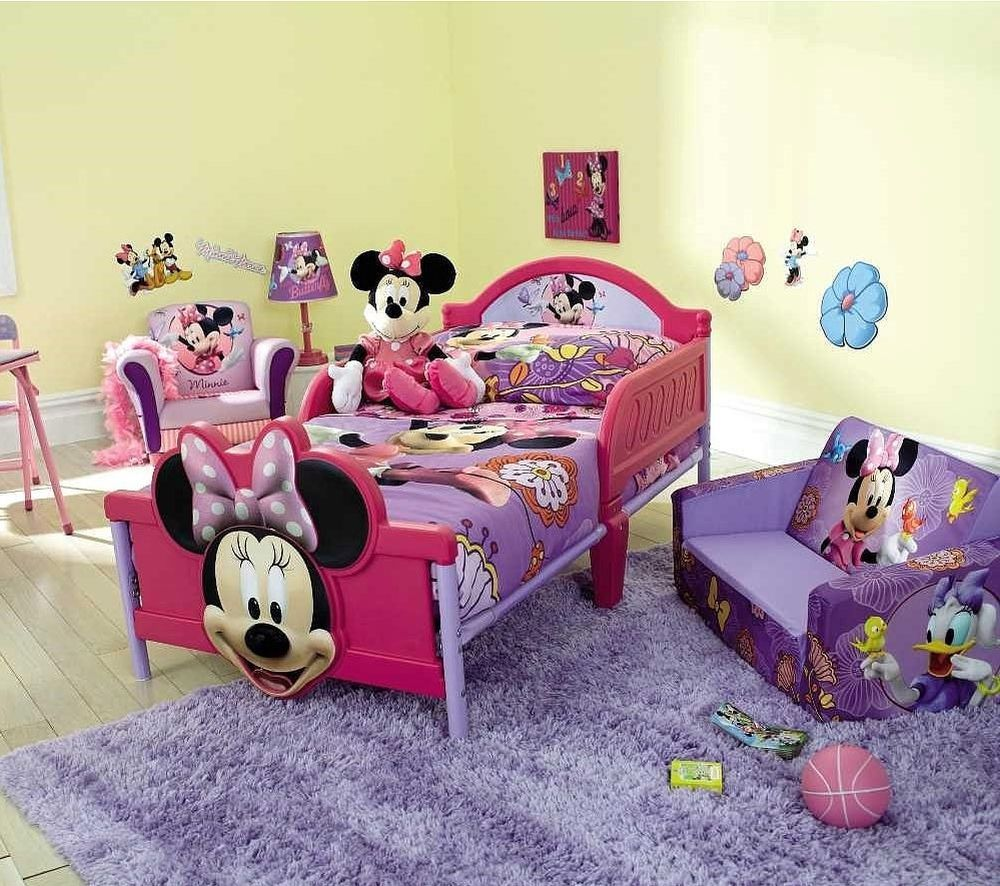 Minnie Mouse Toddler Bedroom