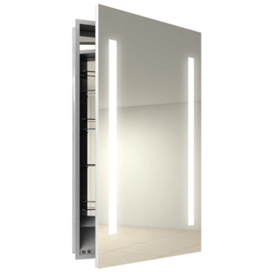 Mirrored Medicine Cabinet Recessed