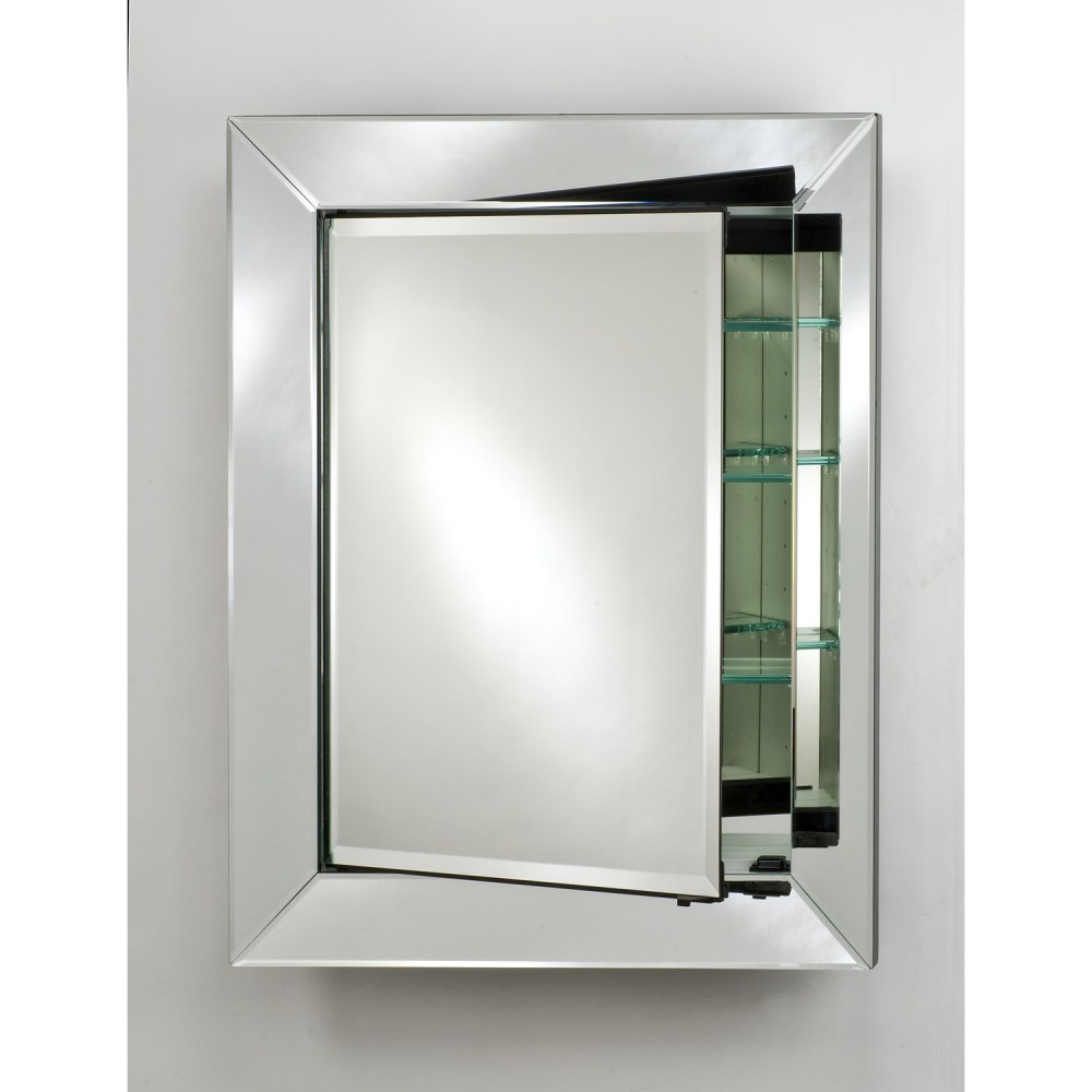 Mirrored Medicine Cabinet With Shelves