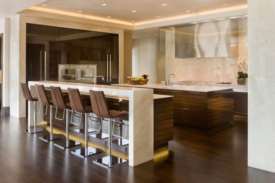 Modern Kitchen Island Bar Stools
