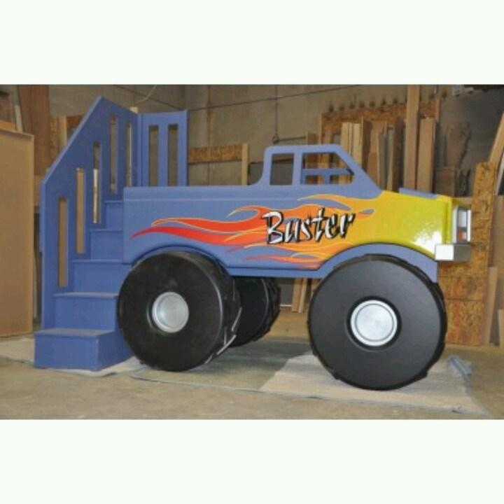 Monster Truck Toddler Bed