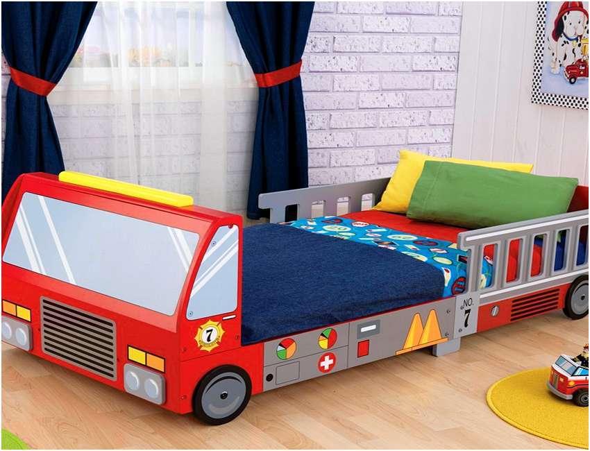 Monster Truck Toddler Bedding Set
