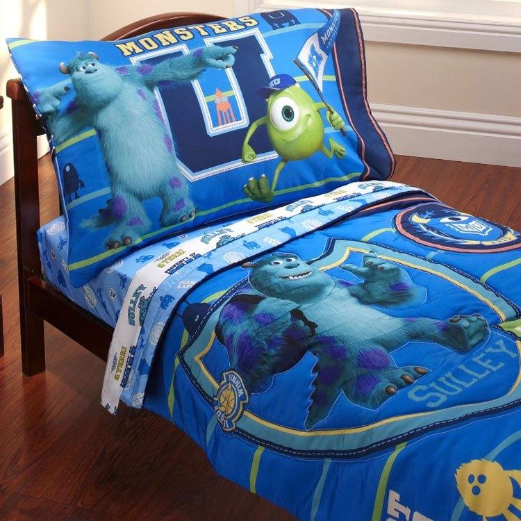 Monsters Inc Toddler Bed Set