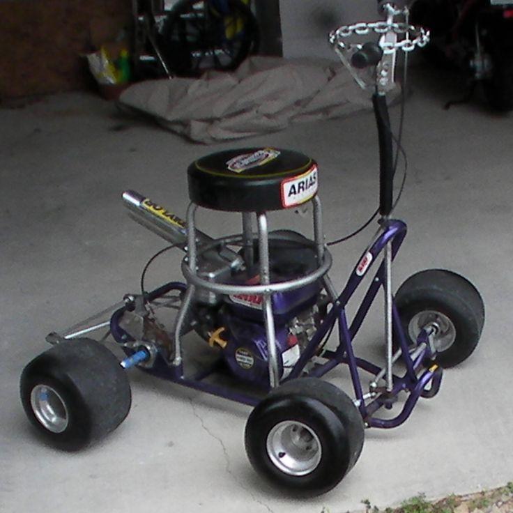 Motorized Bar Stool Racers