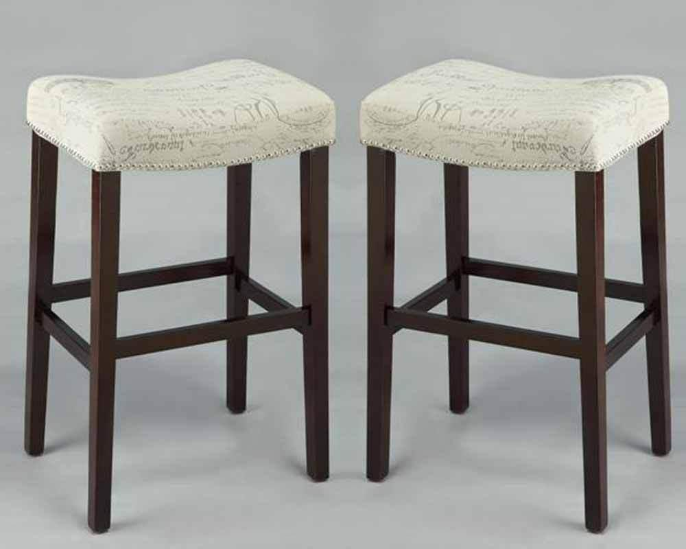 Nailhead Trim Bar Stools