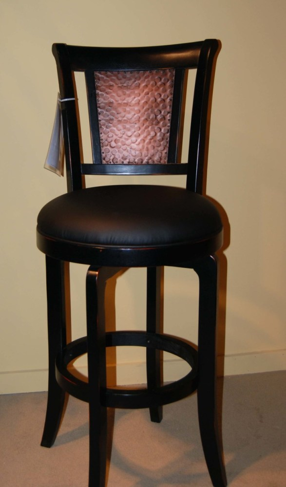 Natural Wood Bar Stools With Backs