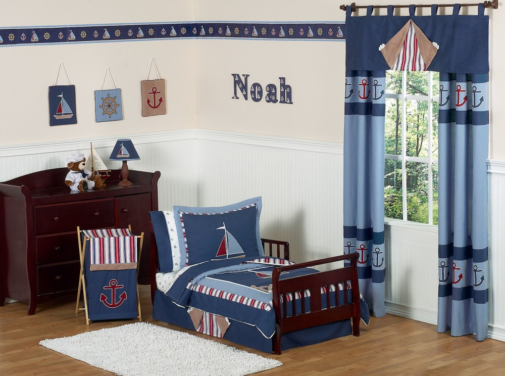 Nautical Themed Toddler Bedding