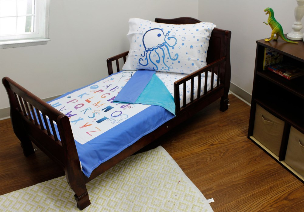 Nautical Toddler Bedding Set