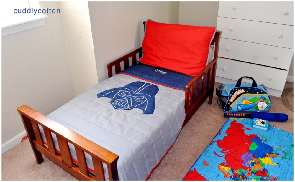 Navy Blue Toddler Bedding