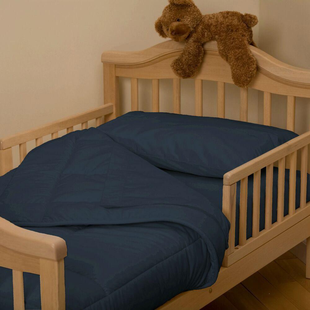 Navy Toddler Bedding