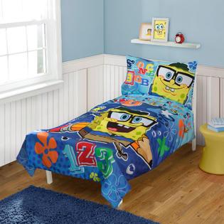 Nickelodeon Spongebob Squarepants Toddler Bedding Set