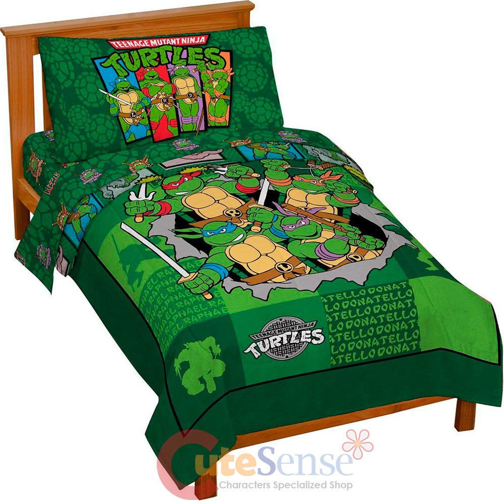 Ninja Turtle Toddler Bed Comforter