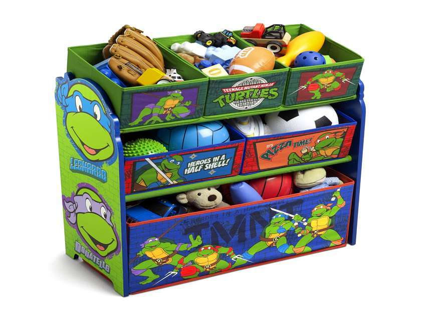 Ninja Turtle Toddler Bed Set
