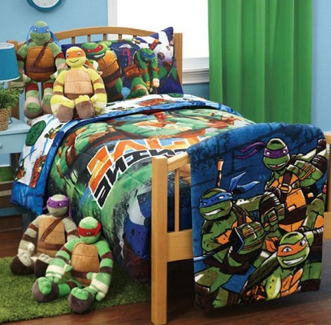 Ninja Turtle Toddler Bedding Walmart